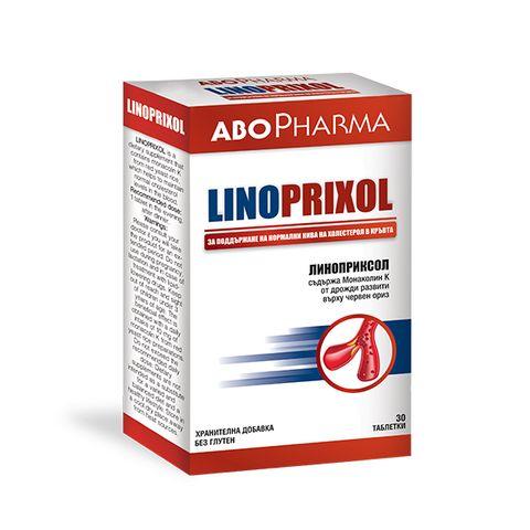 Линоприксол - при първи съмнения за висок холестерол х30 таблетки Abopharma