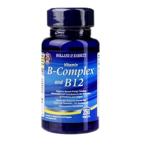 Holland And Barrett Витамин В комплекс с В12 х250 таблетки
