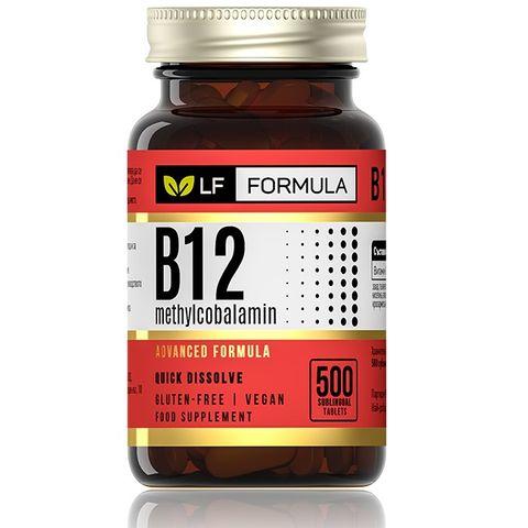Витамин B12 (метилкобаламин) х500 таблетки - Life Formula