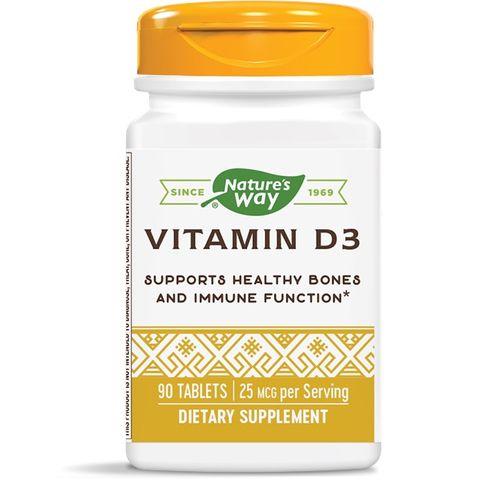 Витамин D3 1000 IU x90 таблетки - Nature's Way