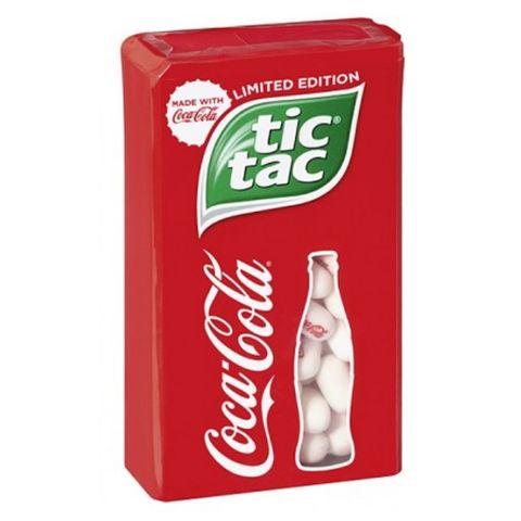 Tic Tac Coca Cola Бонбони с вкус на кока кола х49 грама