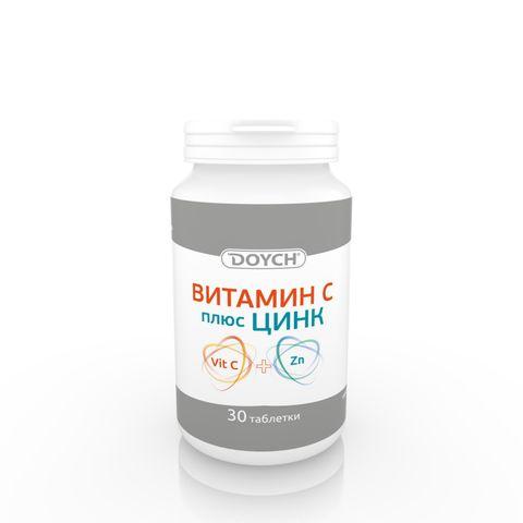 Витамин С плюс цинк х30 таблетки