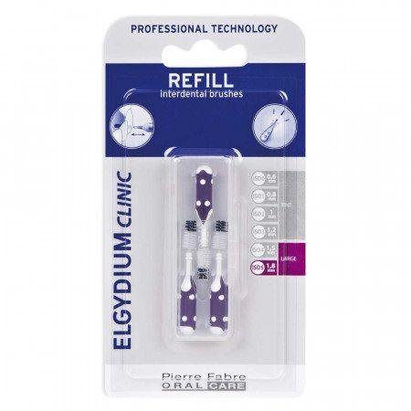 Elgydium Clinic Refill Интердентална четка за зъби, разме 1,8 mm x3 броя