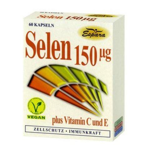 Espara Селен плюс витамини С и Е х60  капсули