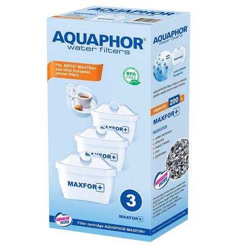 Аквафор Maxfor+ Сменяем филтър за кана, капацитет 200 литра x3 броя