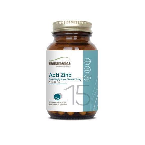 Акти Цинк 15 мг х60 капсули Herba Medica