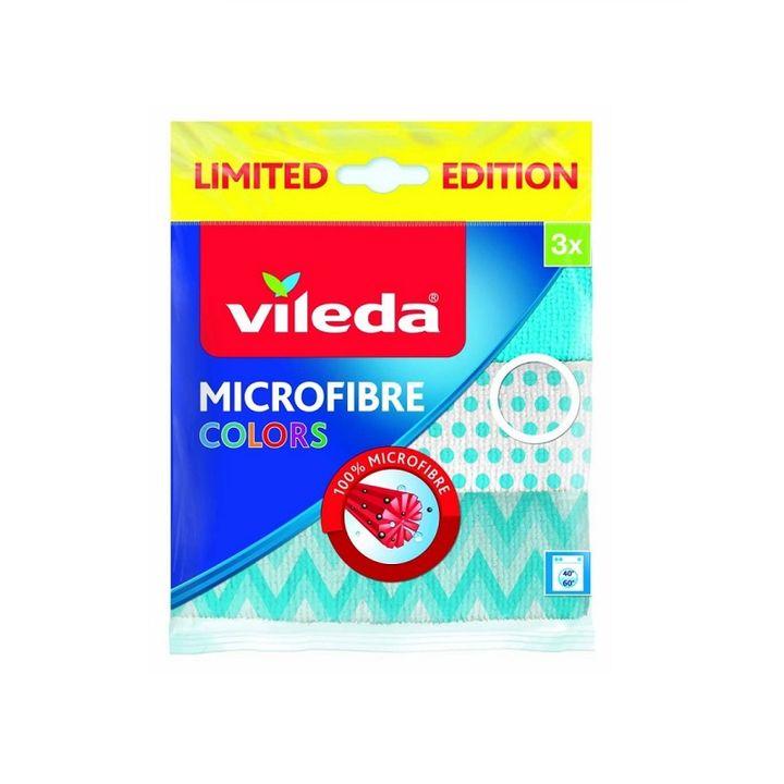 Vileda Colors Микрофибърна кърпа x3 броя