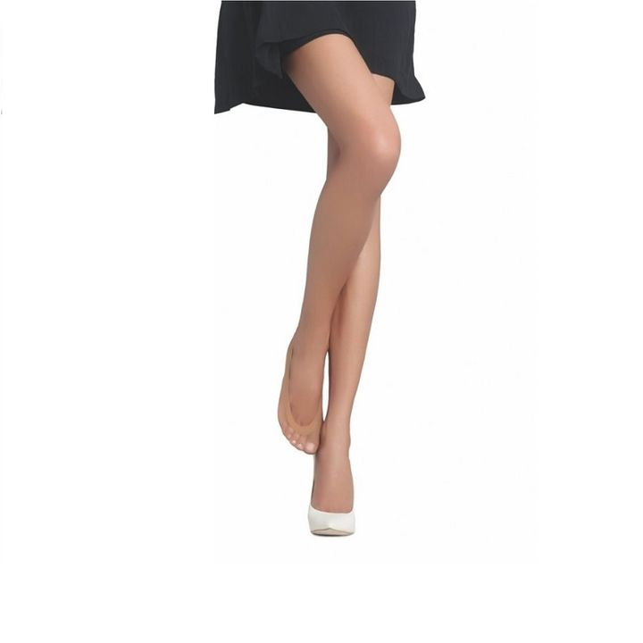 Penti Cotton 40 DEN Дамски терлици, цвят Nude, размер 1/2