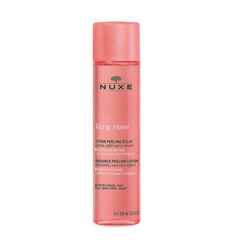 Nuxe Very Rose Озаряващ пилинг лосион за лице x150 мл