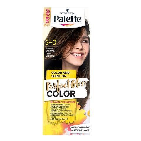 Palette Perfect Gloss Color Крем боя за коса без амоняк x70 мл, 3-0 Тъмен шоколад