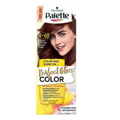 Palette Perfect Gloss Color Крем боя за коса без амоняк x70 мл, 4-68 Червено-кафяв