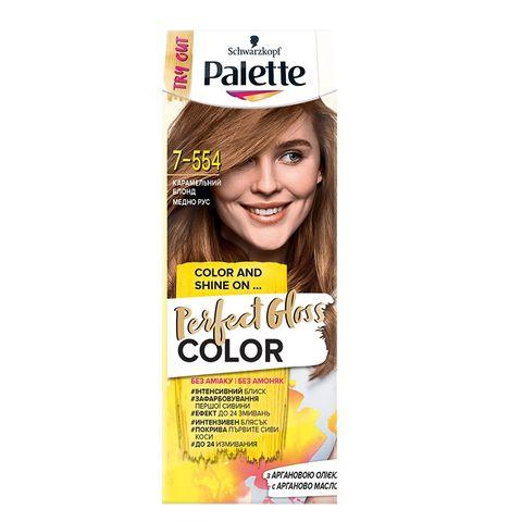 Palette Perfect Gloss Color Крем боя за коса без амоняк x70 мл, 7-554 Медно рус