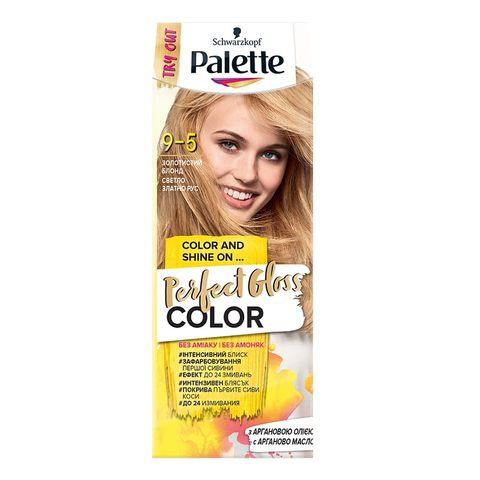 Palette Perfect Gloss Color Крем боя за коса без амоняк x70 мл, 9-5 Златно светло рус