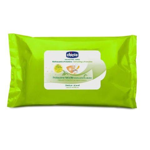 Chicco Освежаващи и защитни мокри кърпи за деца над 2 месеца x20 броя - 0912