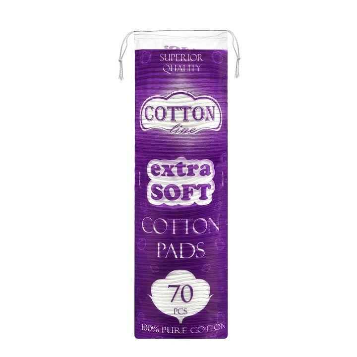 Cotton Line Extra Soft Тампони за грим х70 броя