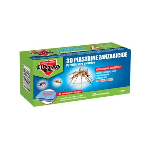 Zig Zag Таблетки срещу комари за електрически изпарител х30 броя