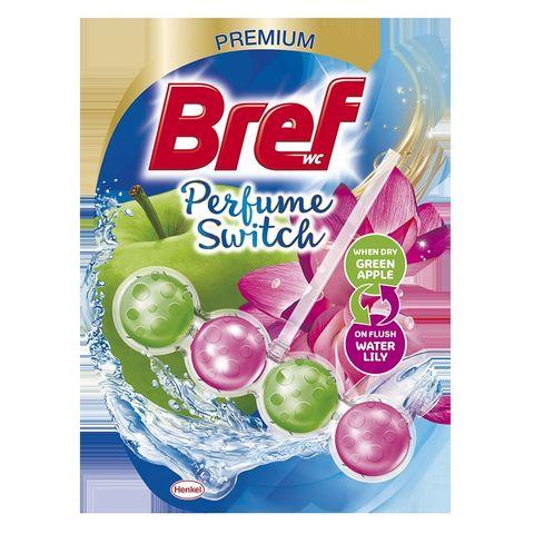 Bref Duo Perfume Switch Floral Apple & Water Lily Твърдо тоалетно блокче x50 грама