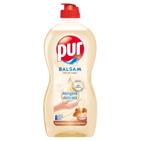 Pur Balsam Препарат за миене на съдове с арганово масло x450 мл