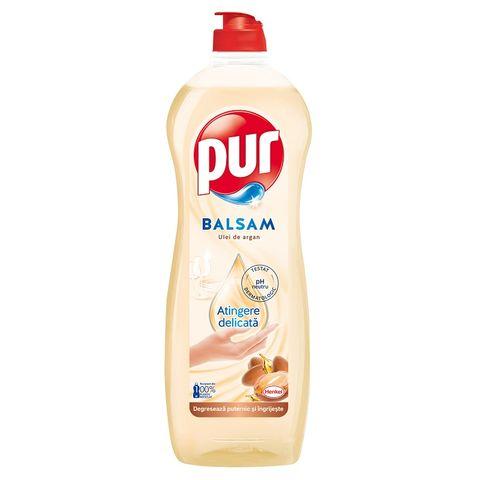 Pur Balsam Препарат за миене на съдове с арганово масло x750 мл