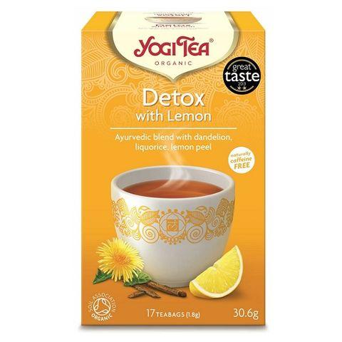 Yogi Tea Detox Био Аюрведичен чай с лимон x17 пакетчета