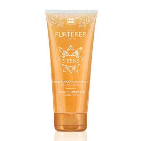 Rene Furterer 5 Sens Разкрасяващо душ-олио за тяло х200 мл