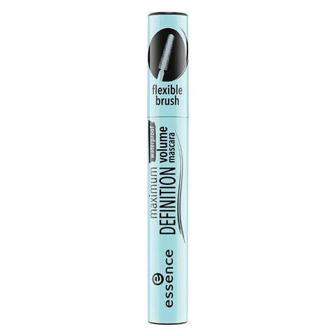 Essence Maximum Definition Водоустойчива спирала за обемни и подчертани мигли, черна