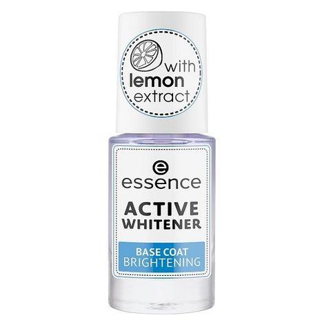 Essence Active Whitener Избелваща база за нокти х8 мл