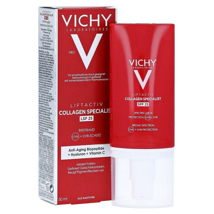 Vichy Liftactiv Collagen Specialist SPF25 Дневен крем с усъвършенствано действие против бръчки x50 мл