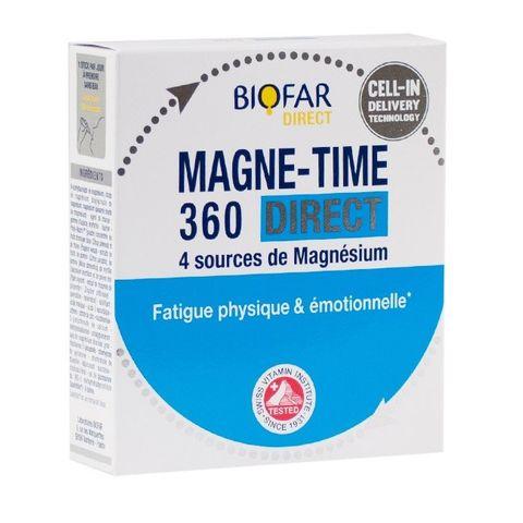 Biofar Magne Time 360 Direct Саше при физическа и емоционална умора х14 броя