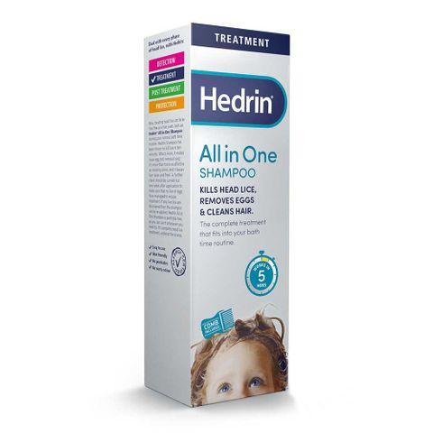 Hedrin All in One Шампоан против  въшки х100 мл Ceumed
