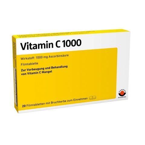Витамин C 1000 мг x20 таблетки Worwag Pharma