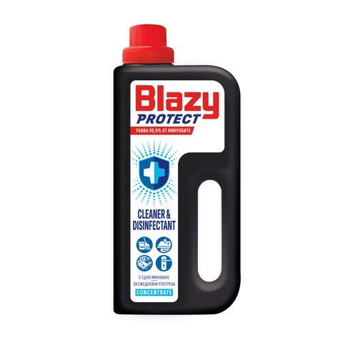 Blazy Protect Концентрат за почистване и дезинфекция на повърхности x1000 мл