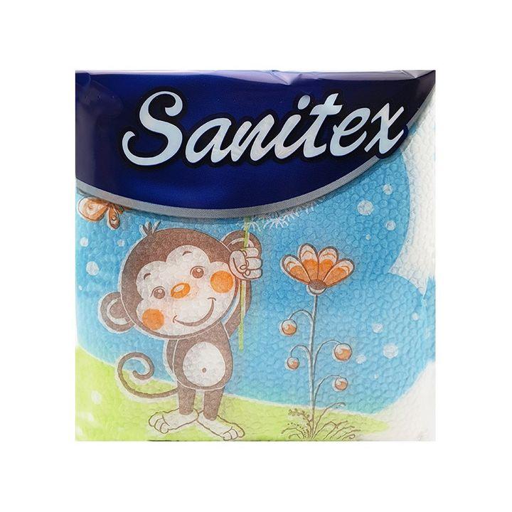 Sanitex Салфетки Маймуна x60 броя