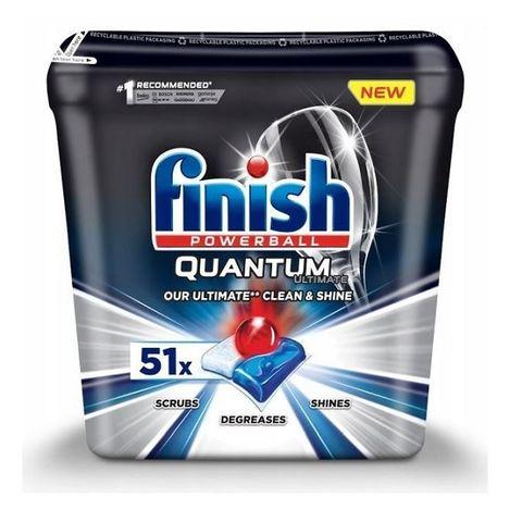 Finish Quantum Ultimate Таблетки за съдомиялна x51 броя