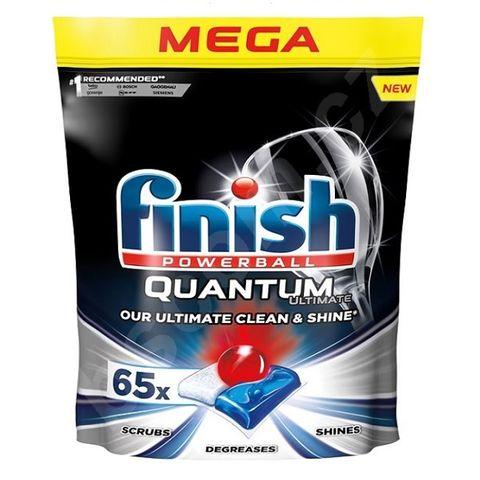 Finish Quantum Ultimate Таблетки за съдомиялна x65 броя