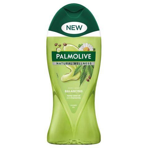 Palmolive Natural Wellness Душ гел за тяло с масло от конопено семе и лайка x250 мл