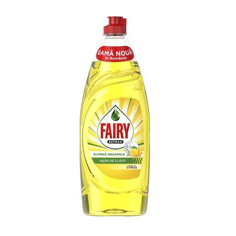 Fairy Extra+ Citrus Течен препарат за съдове x650 мл