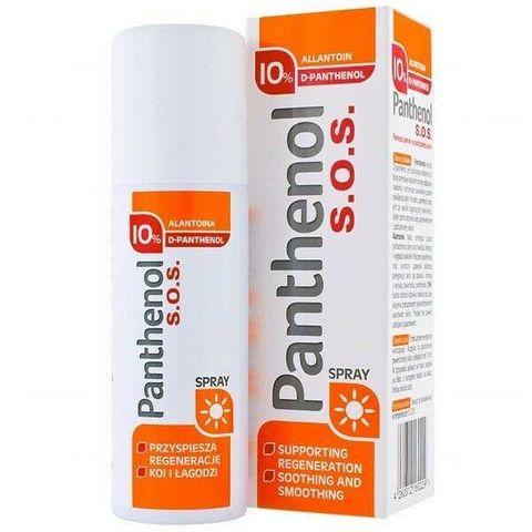 Пантенол 10% SOS Спрей х130 грама