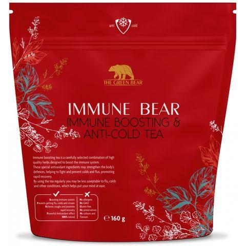 Immune Bear Immune Boosting & Anti Cold Tea Билков чай против грип и настинка х160 грама