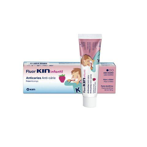 Kin Fluorkin Паста за зъби за деца над 12 месеца x50 мл