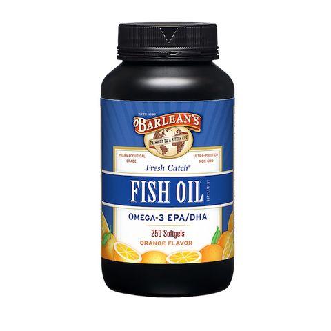 Barlean's Рибено масло с аромат на портокал х250 меки капсули
