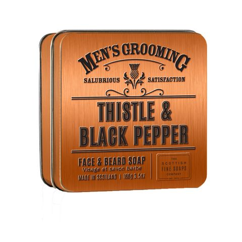 Scottish Fine Soaps Thistle & Black Pepper Сапун за лице и брада x100 грама