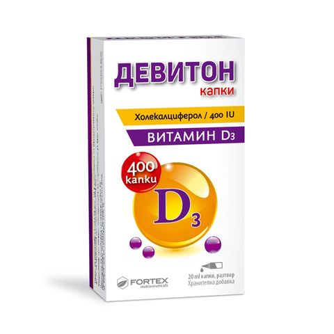 Fortex Девитон 400IU х20 мл