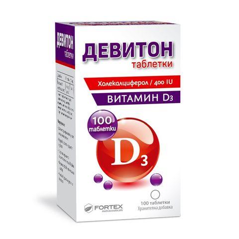 Fortex Девитон х100 таблетки