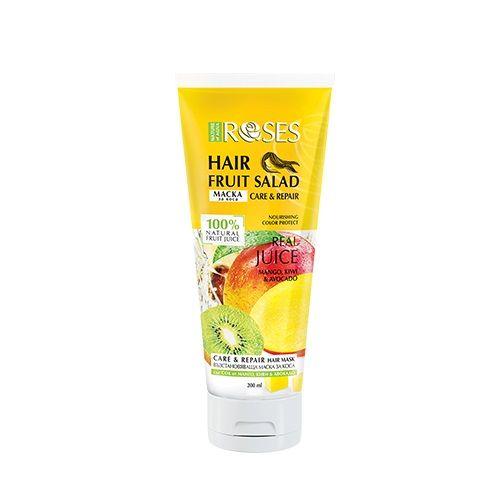 Nature of Agiva Fruit Salad Възстановяваща маска за коса с манго, киви и авокадо x200 мл