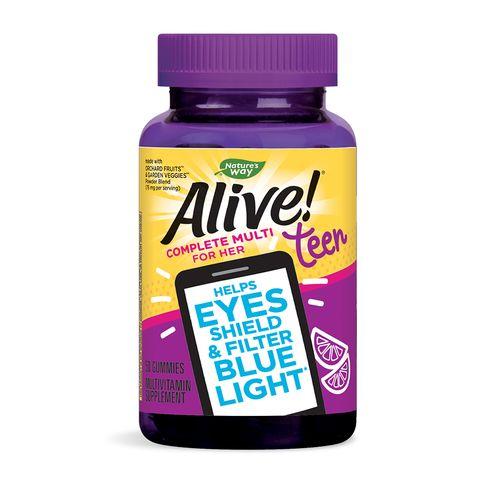 Alive Мултивитамини за момичета x50 желирани таблетки Nature's Way