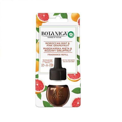 Air Wick Botanica Резервен пълнител за електически ароматизатор Мароканска мента и розов грейпфрут x19 мл