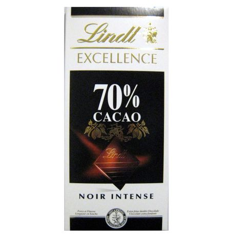 Lindt Excellence Intense Dark Шоколад със 70% какао х100 грама