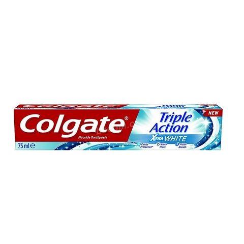 Colgate Triple Action Xtra White Избелваща паста за зъби x75 мл