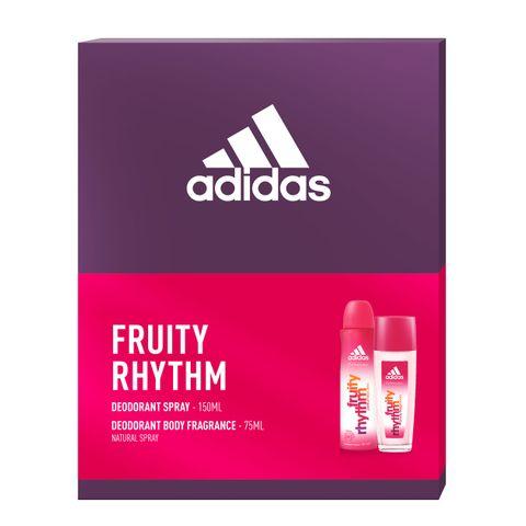Adidas Fruity Rhytm Промо комплект за жени Спрей дезодорант и Спрей за тяло